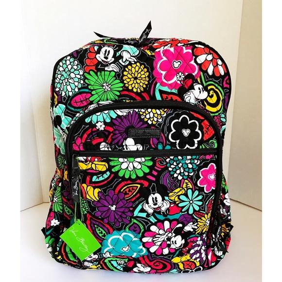 Vera Bradley Disney Backpack In Magical Blooms